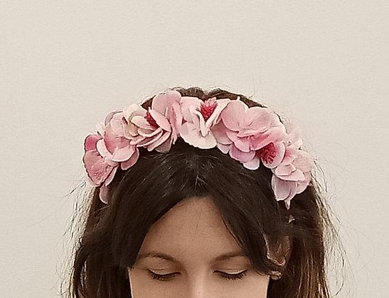Diadema Floral Rosas