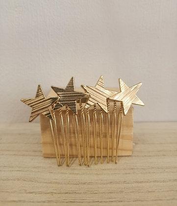 Peineta Estrellas