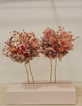 Horquilla Natural y Corales Rosáceos