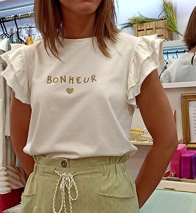Camiseta Bonheur