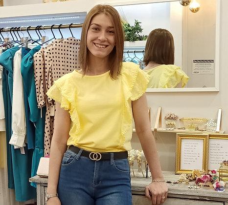 Camiseta Liria Amarillo