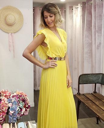 Vestido Gia Amarillo