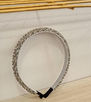 Diadema Cristales Plata