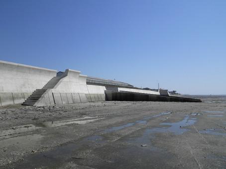 荒尾海岸 高潮対策工事