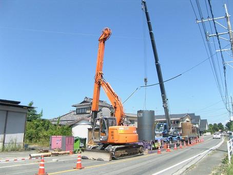 有明汚水技線管渠布設工事