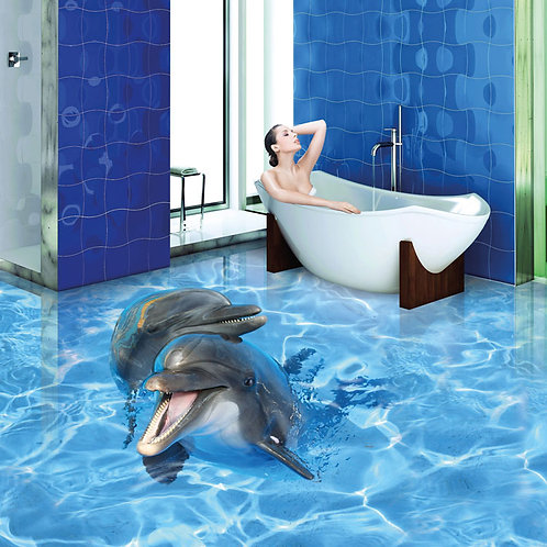 0009 Delphin (Belag) ab