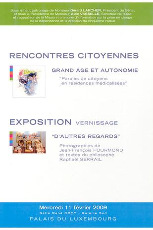 Exposition au Palais du Luxembourg