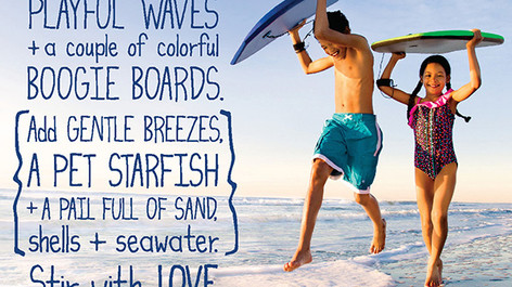 South Carolina Parks, Recreation & Tourism 'Recipes' Leisure Campaign