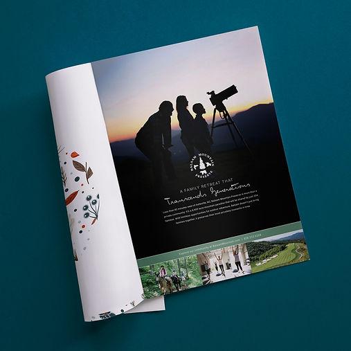 Balsam Mountain Preserve Print Ad