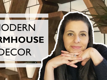 Rustic Modern Farmhouse: Get the look! Inspired by Joanna Gains {Fixer Upper}
