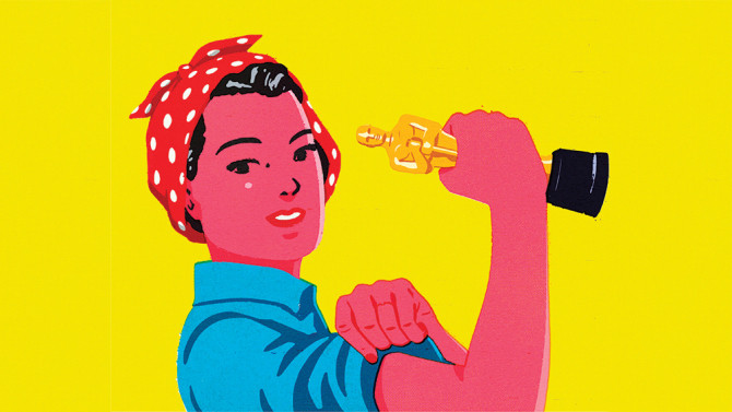 Fight Misogyny with Your Fist (full of popcorn)