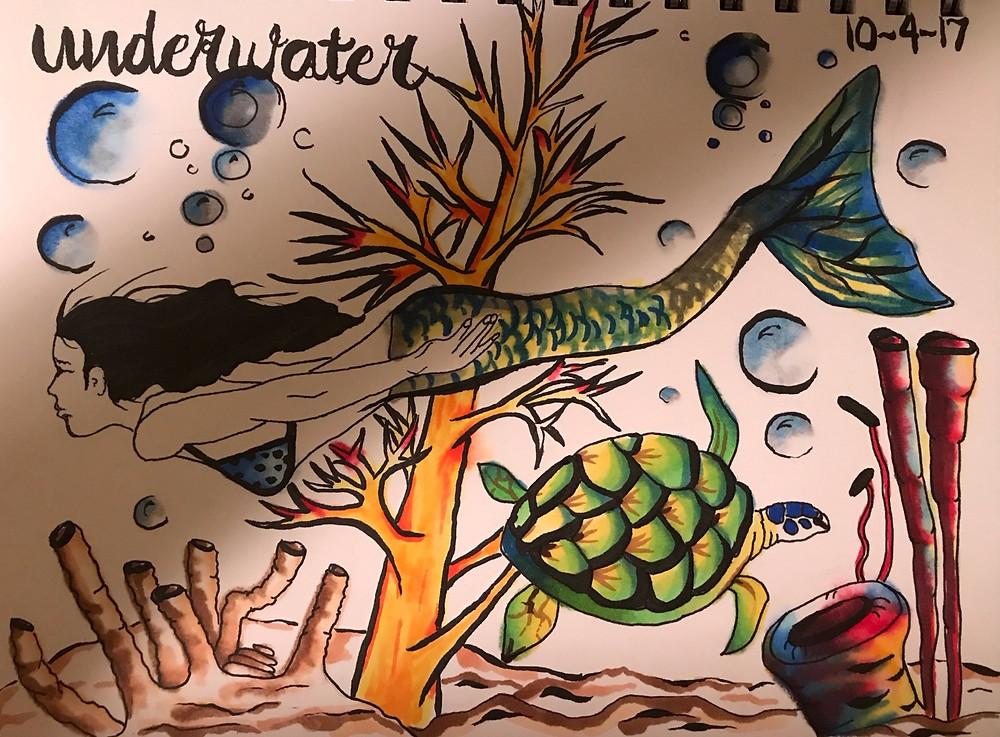 Artwork by Linda McClure