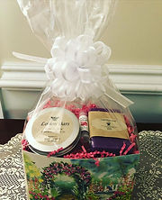 Spa Gift Boxes are now available. $20.00