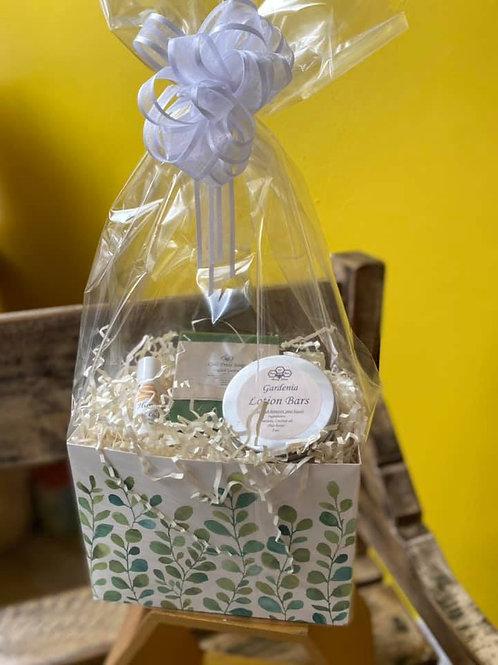 Watercolor Greenery Spa Gift Box
