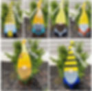 Hand painted Gnomes. $12.00 each. To pla