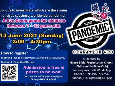 Children in a Pandemic world