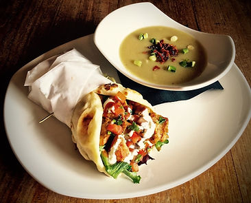 Chicken Schawarma with Soup.jpg