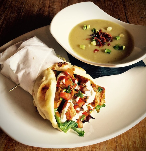 Chicken Schawarma with Soup.jpg