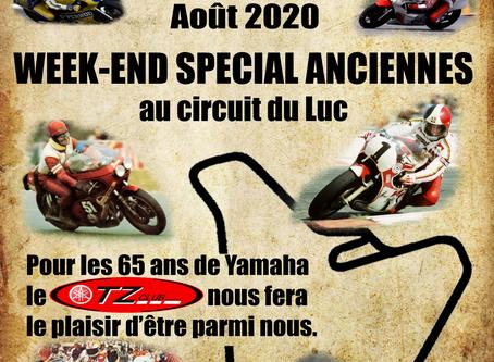 Week-end Ancienne le 8 et 9 Aout 2020