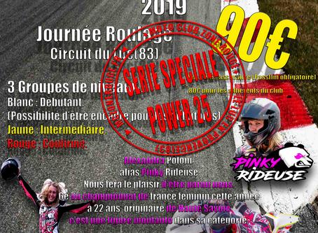 Roulage le 5 octobre 2019 Circuit du Luc