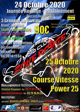 Affiche Double Roulage + Course 24 et 25