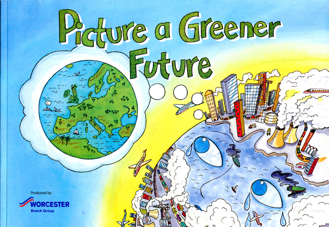 Picture a Greener Future book cover.