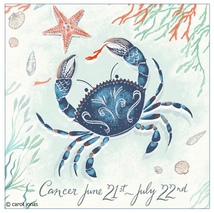 Astrological sign for Cancer
