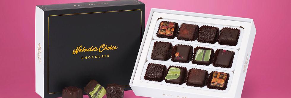 Chocolate Coated 12pc