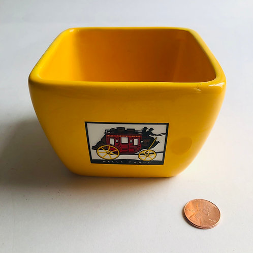 Small Wells Fargo Square Bowl