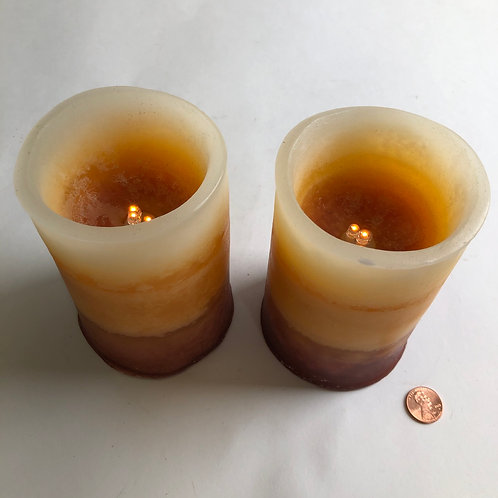 Pair of Electric Candles