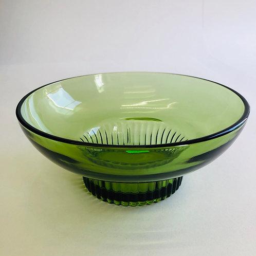 Green Glass Dish