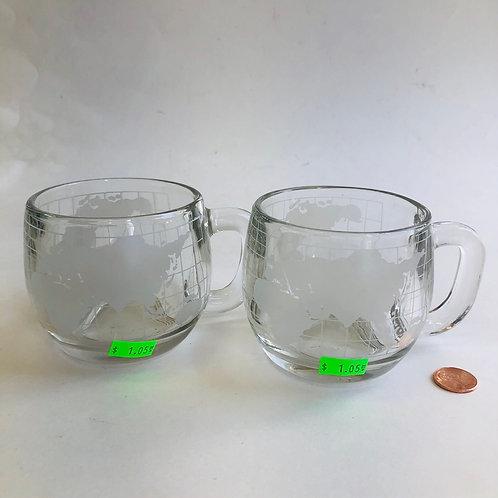 Nestle Gold Glass Mugs - Set of 2