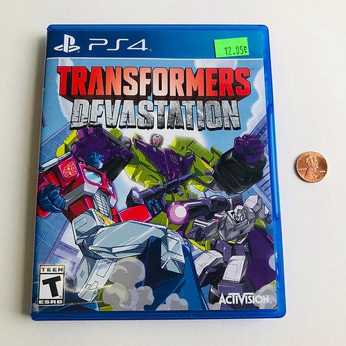 Transformers Devastation for PS4