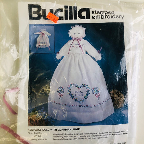 Bucilla Guardian Angel Keepsake Doll