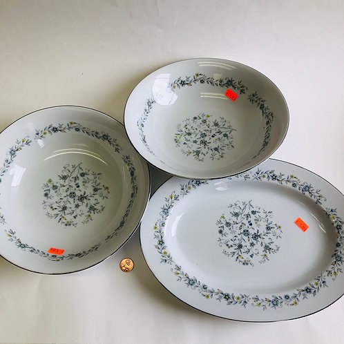 3 Piece Acsons Diamond China Set