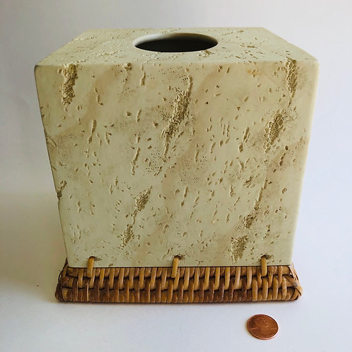 Desert Sand Tissue Box Cover