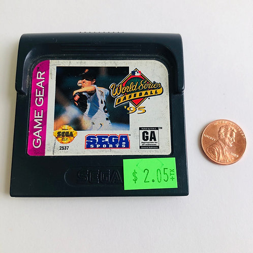 World Series Baseball for Sega Game Gear