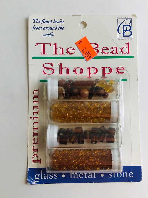 The Bead Shoppe Premium Gold Beads