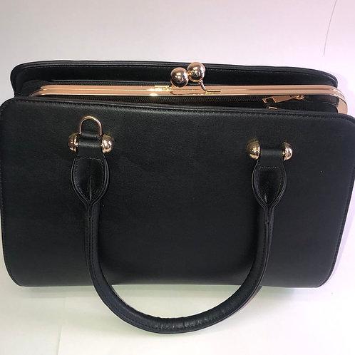 Vintage Style Black Purse