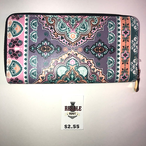 Mandala Design Wallet
