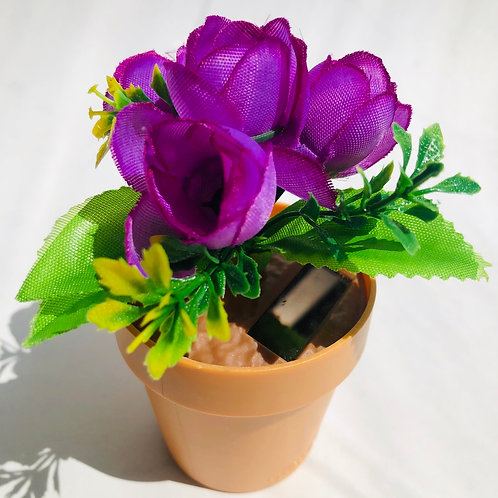 Solar Dancing Flower Pot