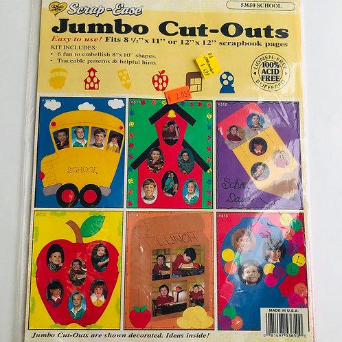 Scrap-Ease Jumbo Cut-Out