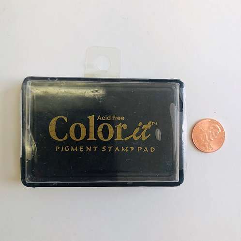 Color it Acid Free Pigment Stamp - Black