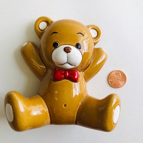 Small Ceramic Teddy Bear