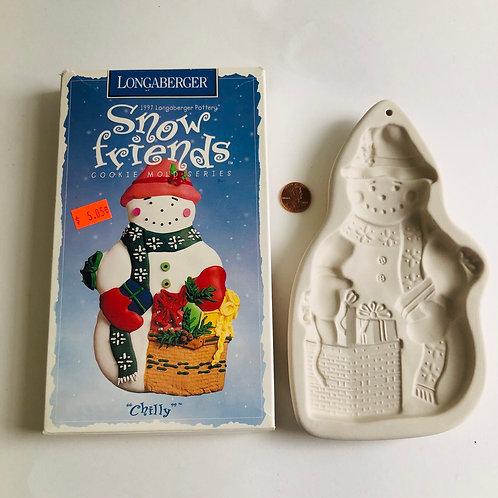 Longaberger Snow Friends Cookie Maker