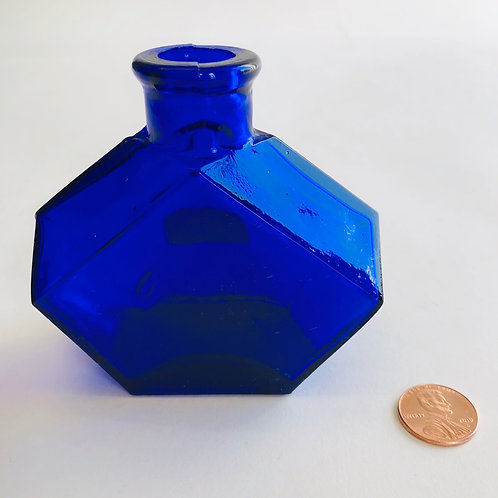 Small Cobalt Blue vase