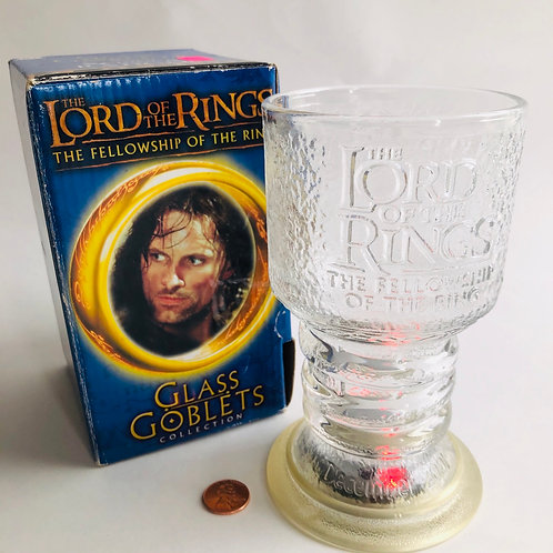 Lord of the Rings Light-up Glass Goblet - Strider the Ranger