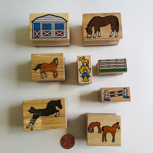 Horse & Stable Stamps