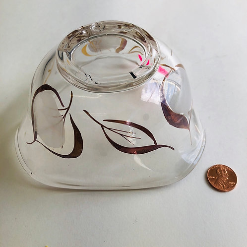 Small Gold Inlaid Candy Dish