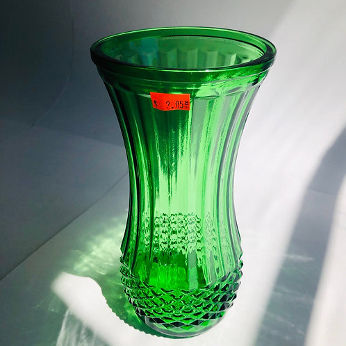 Green Floral Arrangement Vase